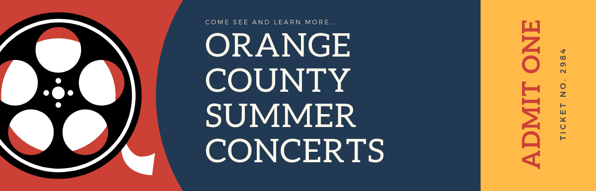 2019 Orange County Summer Concerts